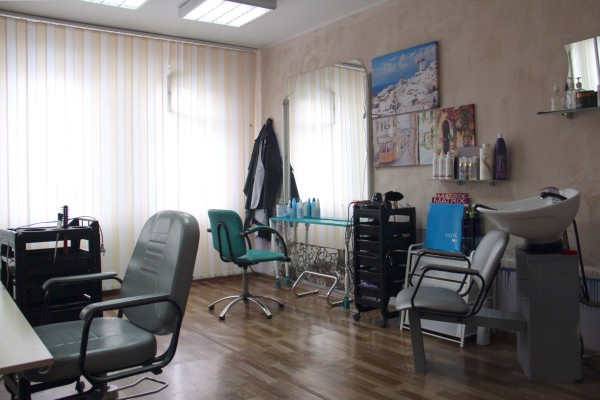 Наш парикмахерский зал